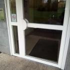 fenetre lille  reparation sur vitrage de porte